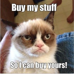 😾 make me offers!
